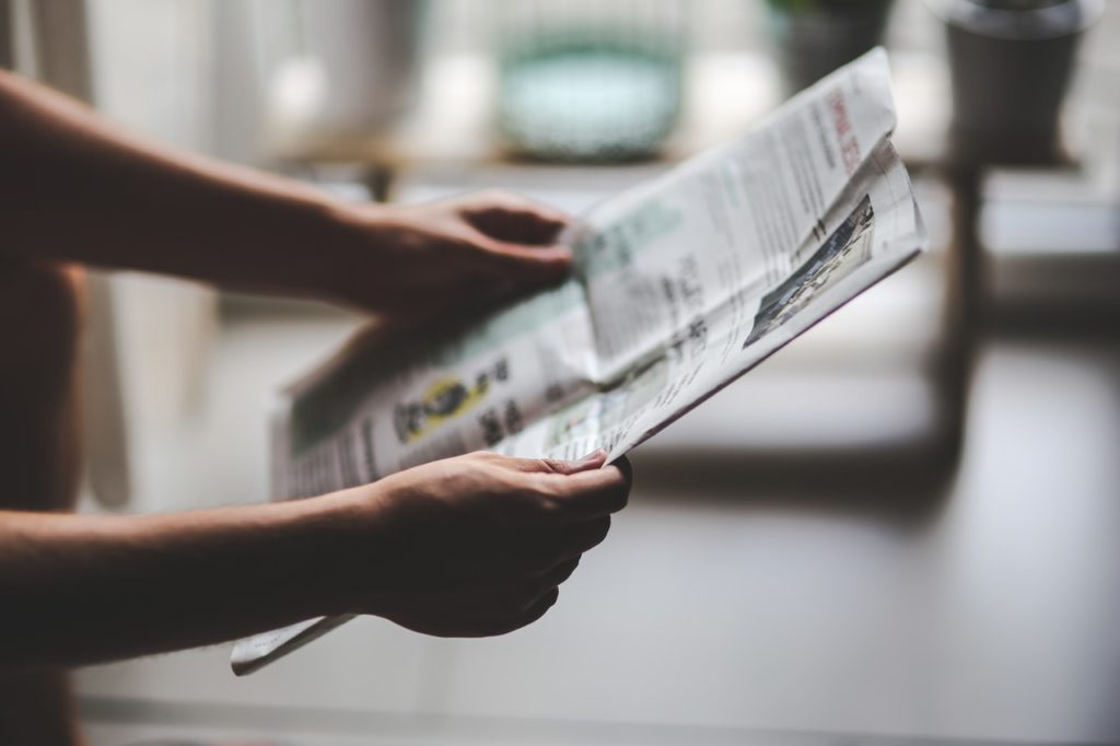 Engaging headlines caught attention for newspapers